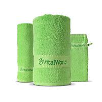 Frottee-Tücher, 3er Set assortiert von VitalWorld - Produktdetailbild 1