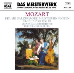 Frühe Salzburger Meistersinfonien, Helmut Müller-Brühl, Kölner Kammerorchester