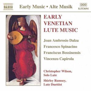 Frühe Venetianische Lautenmusik, Christopher Wilson, Shirley Rumsey