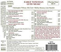 Frühe Venetianische Lautenmusik - Produktdetailbild 1