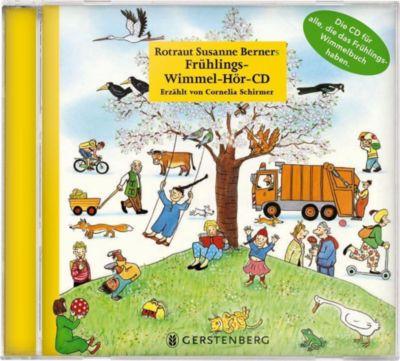 Frühlings-Wimmel-Hör-CD, 1 Audio-CD, Rotraut Susanne Berner, Wolfgang Von Henko, Ebi Naumann