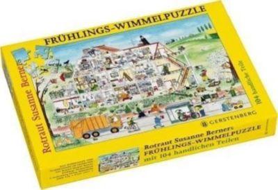 Frühlings-Wimmel-Puzzle (Kinderpuzzle), Rotraut Susanne Berner