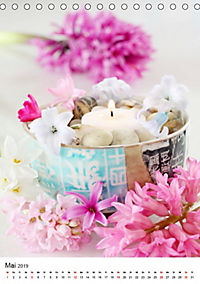Frühlingsblumen Hyazinthen (Tischkalender 2019 DIN A5 hoch) - Produktdetailbild 5