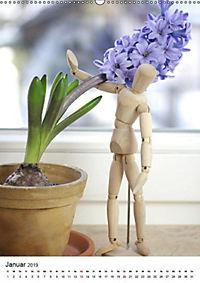 Frühlingsblumen Hyazinthen (Wandkalender 2019 DIN A2 hoch) - Produktdetailbild 1