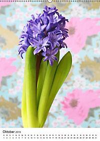Frühlingsblumen Hyazinthen (Wandkalender 2019 DIN A2 hoch) - Produktdetailbild 10