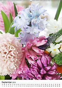 Frühlingsblumen Hyazinthen (Wandkalender 2019 DIN A2 hoch) - Produktdetailbild 9