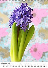 Frühlingsblumen Hyazinthen (Wandkalender 2019 DIN A3 hoch) - Produktdetailbild 10