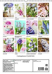 Frühlingsblumen Hyazinthen (Wandkalender 2019 DIN A3 hoch) - Produktdetailbild 13