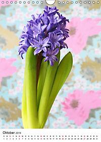 Frühlingsblumen Hyazinthen (Wandkalender 2019 DIN A4 hoch) - Produktdetailbild 10