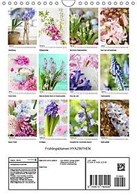 Frühlingsblumen Hyazinthen (Wandkalender 2019 DIN A4 hoch) - Produktdetailbild 13