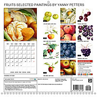 FRUITS SELECTED PAINTINGS BY YANNY PETTERS (Wall Calendar 2019 300 × 300 mm Square) - Produktdetailbild 13