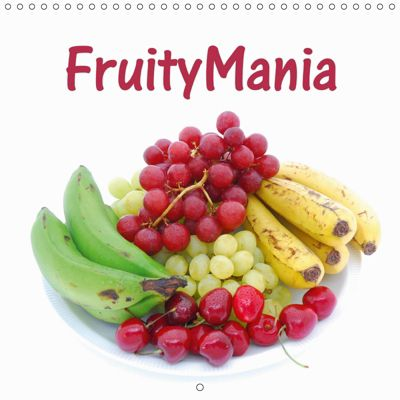 FruityMania (Wall Calendar 2019 300 × 300 mm Square), Anke van Wyk - www.germanpix.net, Anke van Wyk