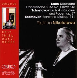 Frz.Suite 4/Präl.U.Fugen Op.87/Sonate Op.111, Tatiana Nikolayeva