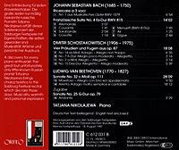Frz.Suite 4/Präl.U.Fugen Op.87/Sonate Op.111 - Produktdetailbild 1