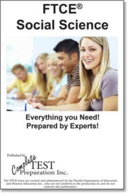 FTCE Social Science 6-12 Skill Practice, Complete Test Preparation Inc.