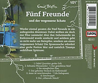 Fünf Freunde Band 101: Fünf Freunde und der vergessene Schatz (1 Audio-CD) - Produktdetailbild 1