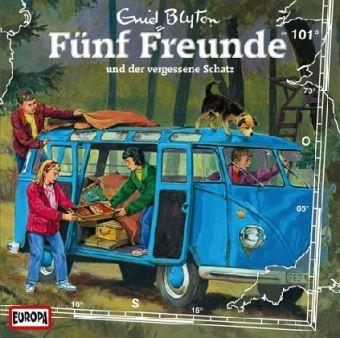 Fünf Freunde Band 101: Fünf Freunde und der vergessene Schatz (1 Audio-CD), Enid Blyton