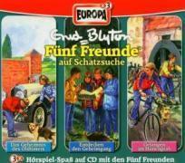 Fünf Freunde Band 32/33/36: 3er Box Fünf Freunde auf Schatzsuche (3 Audio-CDs), Enid Blyton