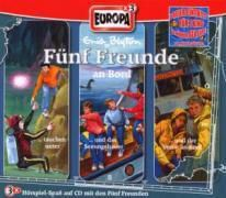 Fünf Freunde Band 60/66/71: 3er Box Fünf Freunde an Bord (3 Audio-CDs), Enid Blyton