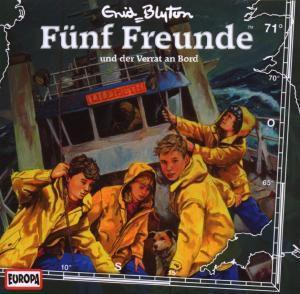 Fünf Freunde Band 71: Fünf Freunde und der Verrat an Bord (1 Audio-CD), Enid Blyton