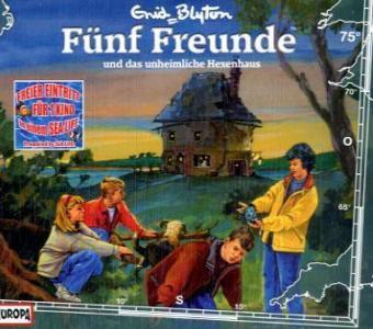 Fünf Freunde Band 75: Fünf Freunde und das unheimliche Hexenhaus (1 Audio-CD), Enid Blyton