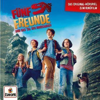 Fünf Freunde und das Tal der Dinosaurier, 1 Audio-CD, Enid Blyton