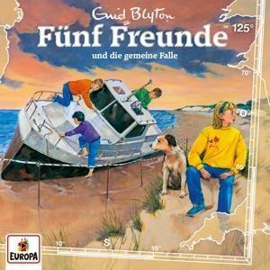Fünf Freunde und die gemeine Falle, 1 Audio-CD, Enid Blyton