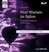 Fünf Wochen im Ballon, 1 MP3-CDs, Jules Verne