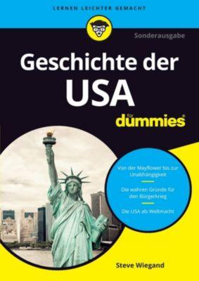 ...für Dummies: Die Geschichte der USA für Dummies, Steve Wiegand