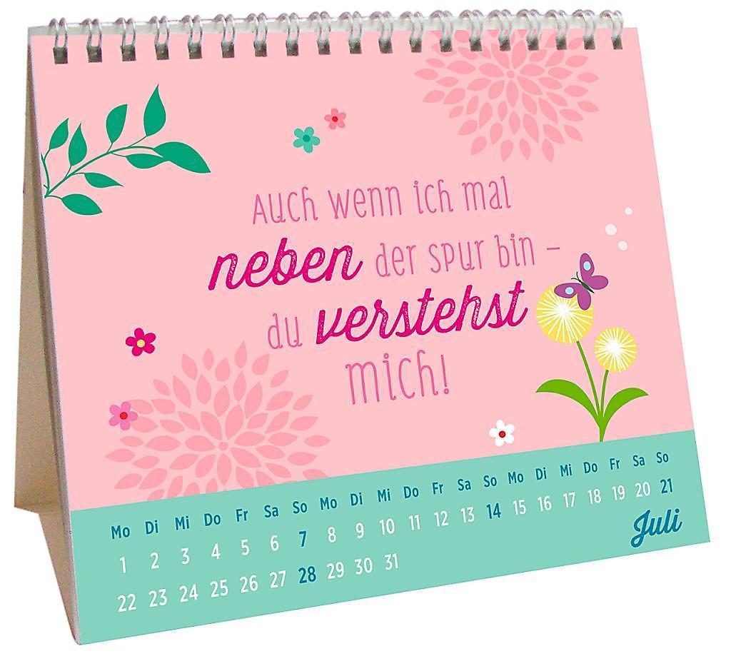 Für eine tolle Freundin wie dich 2019 - Kalender bei