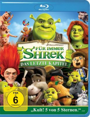 f r immer shrek blu ray jetzt im shop bestellen. Black Bedroom Furniture Sets. Home Design Ideas