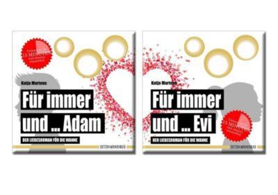 Für immer und ... Adam / Für immer und ... Evi, 2 Bände - Katja Martens  