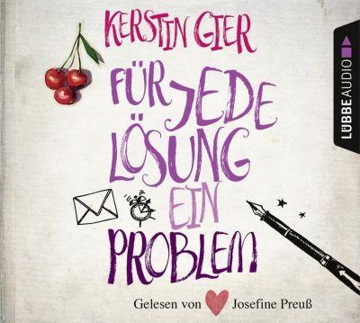 Für jede Lösung ein Problem, 4 Audio-CDs, Kerstin Gier