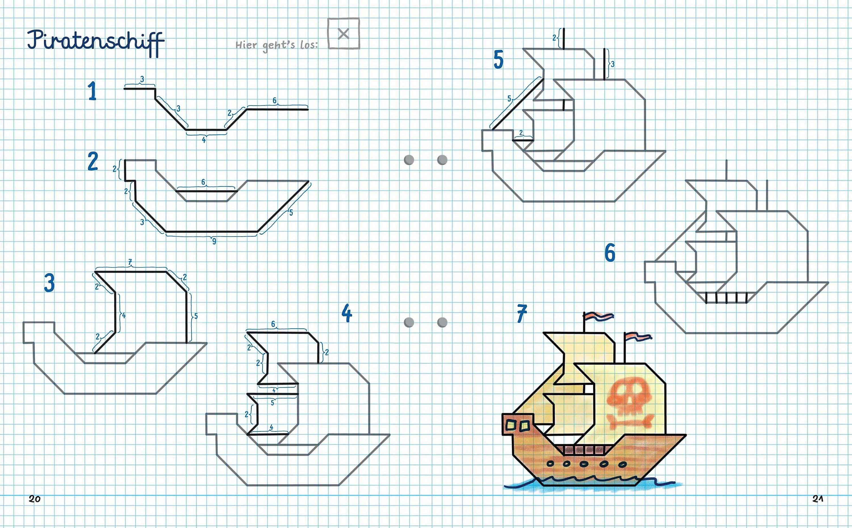 Für Kleine Zeichner Bunte Welt Auf Karopapier Buch Weltbildde