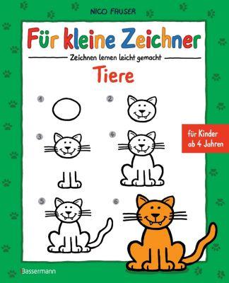 Für kleine Zeichner - Tiere, Nico Fauser