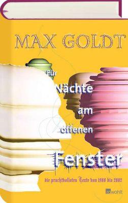 Für Nächte am offenen Fenster - Max Goldt pdf epub