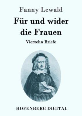 Für und wider die Frauen, Fanny Lewald