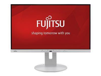 FUJITSU DISPLAY P24-9 TE EU P Line 60,5cm 23,8Zoll USB Docking Display Ultra schmaler Rand 5in1 Fuss hellgrau USB TypeC DP HDMI VGA