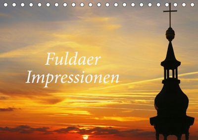 Fuldaer Impressionen (Tischkalender 2019 DIN A5 quer), Cornelia Nerlich