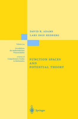 Function Spaces and Potential Theory, David R. Adams, Lars I. Hedberg