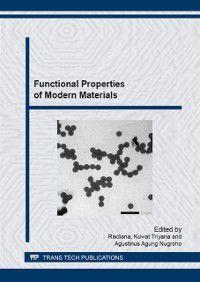 Functional Properties of Modern Materials
