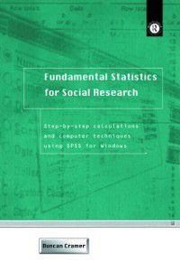 Fundamental Statistics for Social Research, Duncan Cramer