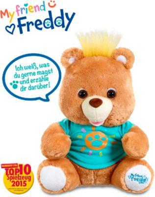 Funktionsplüsch My friend Freddy, 34cm