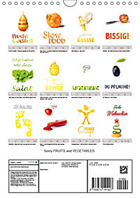 funny FRUITS and VEGETABLES - lustiges Obst und Gemüse (Wandkalender 2019 DIN A4 hoch) - Produktdetailbild 13