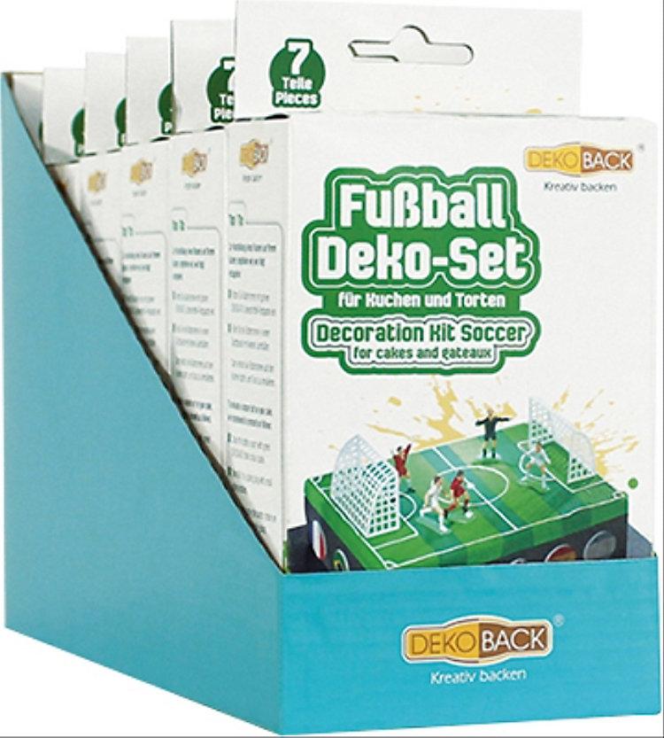 Fussball Tortendeko Set Fussballfeld 7 Teilig Weltbild Ch