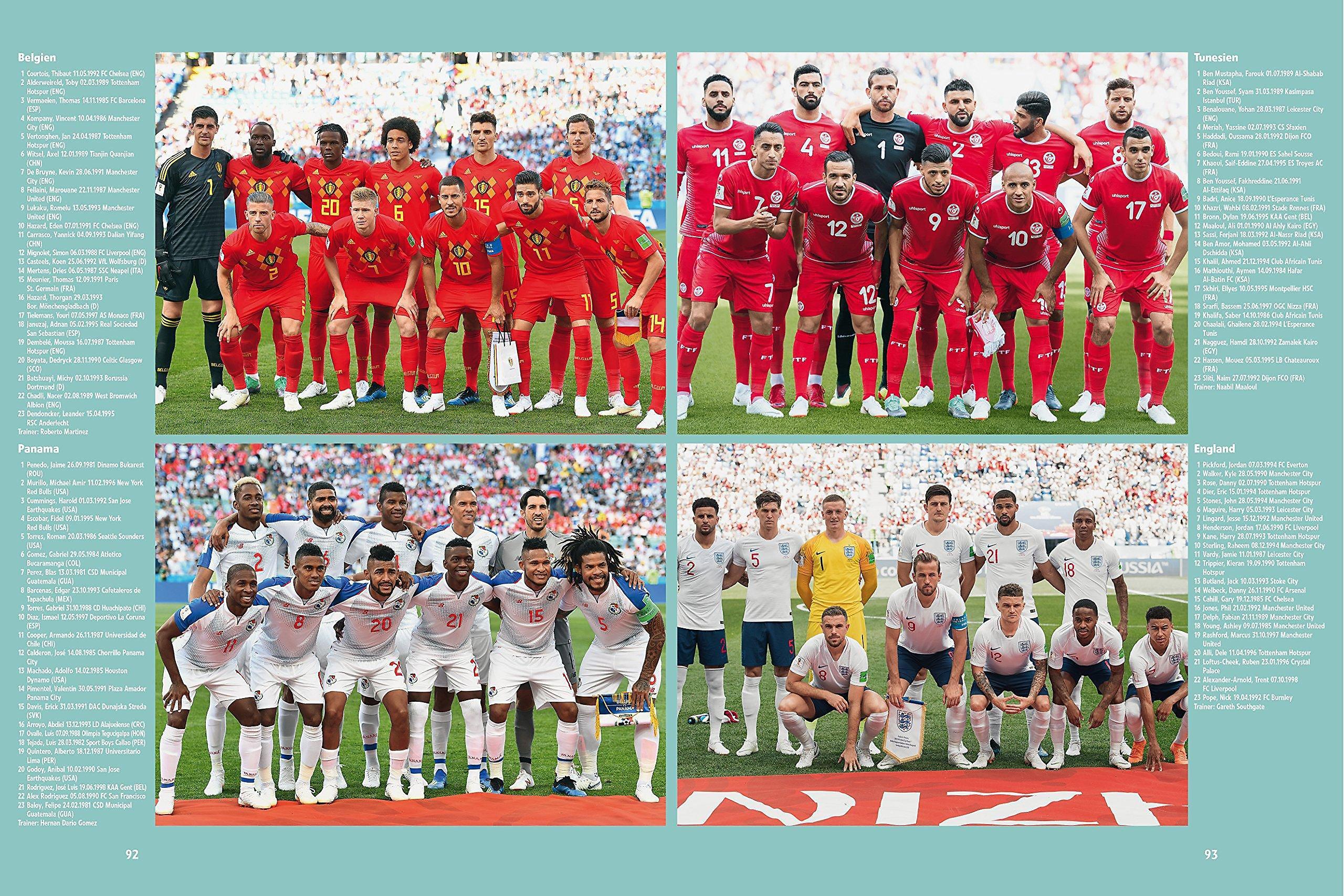 Fussball Weltmeisterschaft Russland 2018 Buch
