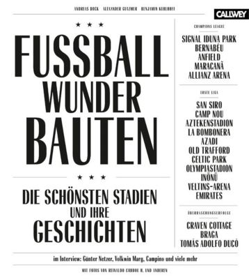 Fussball-Wunder-Bauten, Andreas Bock, Alexander Gutzmer, Benjamin Kuhlhoff