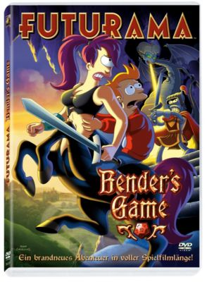 Futurama - Bender's Game, Matt Groening, David X. Cohen, Michael Rowe, Patric Verrone