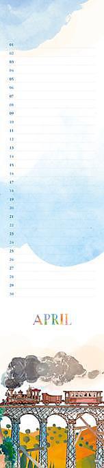 Gabila Geburtstagskalender long - Produktdetailbild 1