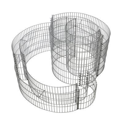 Gabionen Kräuterspirale 110 x 90 cm
